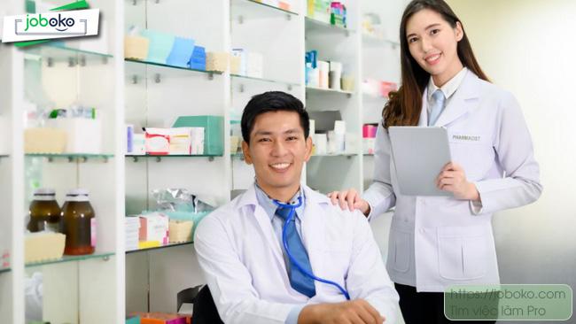 mô tả công việc trình dược viên otc